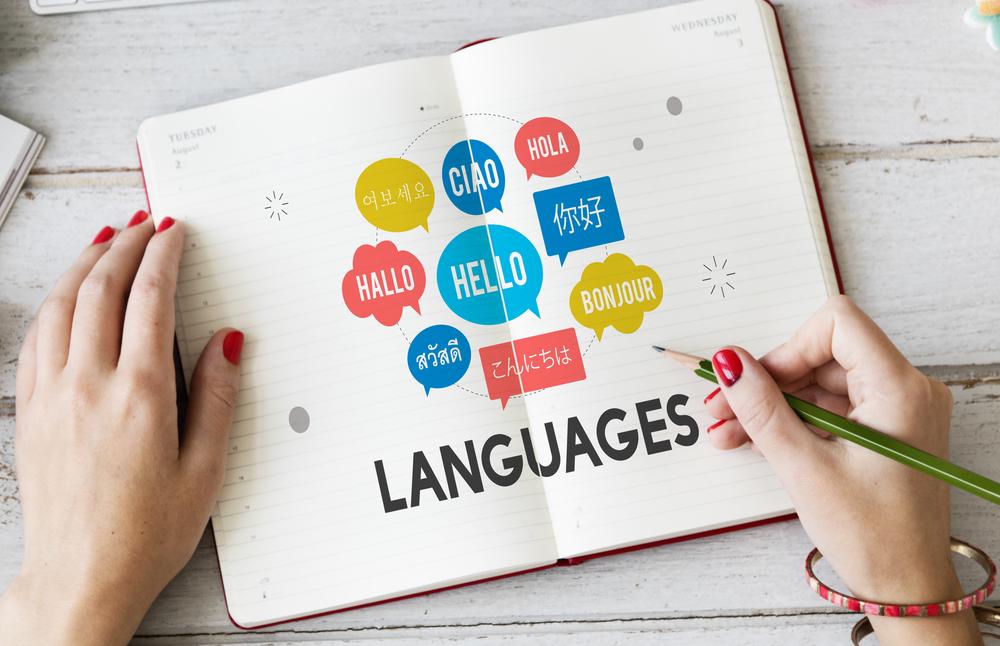 Multilingual Greetings Languages Concept